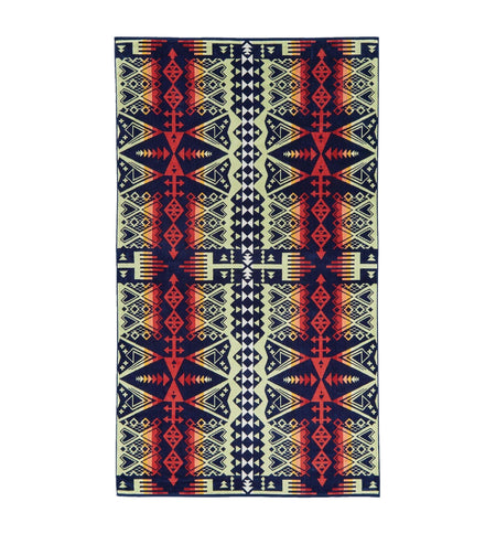 Pendleton Woolen Mills Oversized Jacquard Towel - Arrow Revival - Outdoor Living/Travel - Iron and Resin