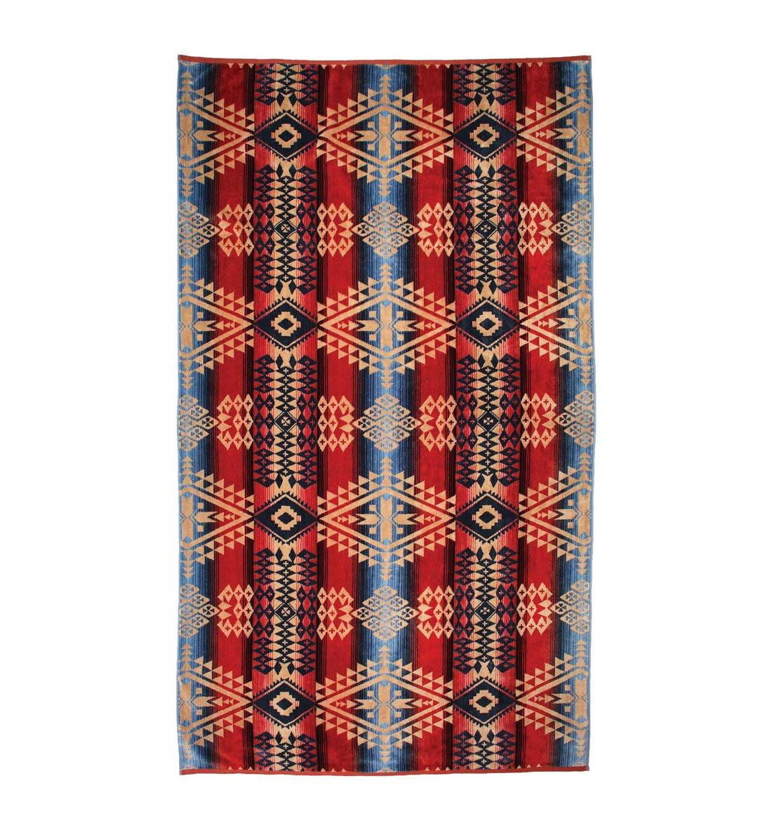 Pendleton Woolen Mills Oversized Jacquard Towel - Canyonlands - Outdoor Living/Travel - Iron and Resin