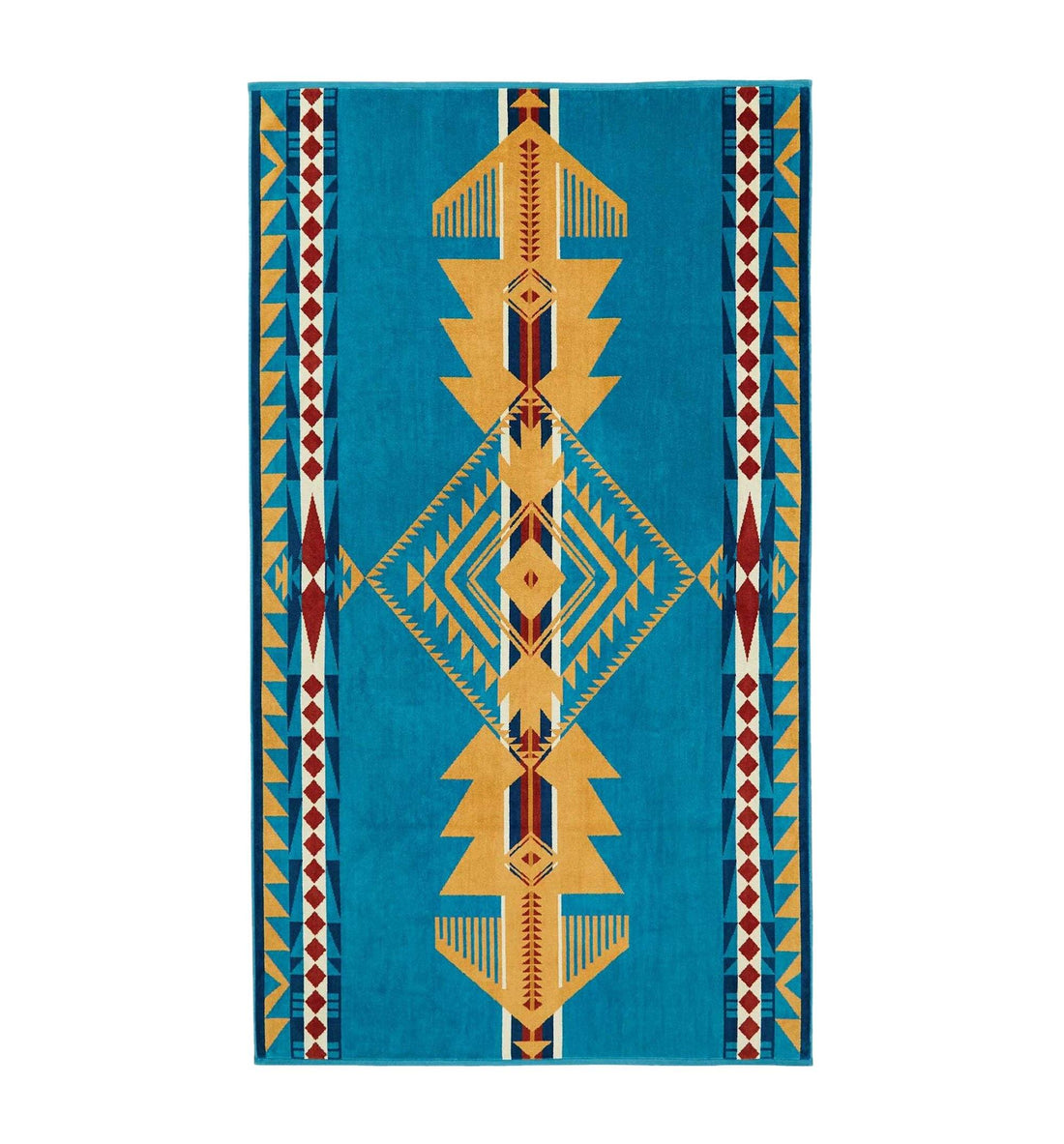 Pendleton Woolen Mills Oversized Jacquard Towel - Eagle Gift - Outdoor Living/Travel - Iron and Resin