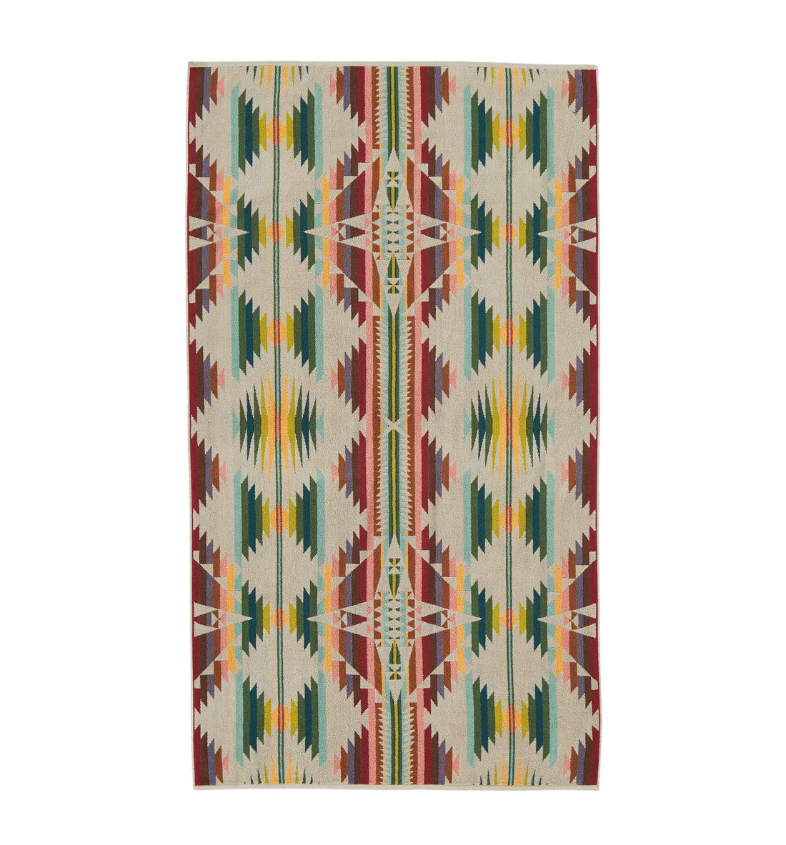 Pendleton Woolen Mills Oversized Jacquard Towel - Falcon - Outdoor Living/Travel - Iron and Resin