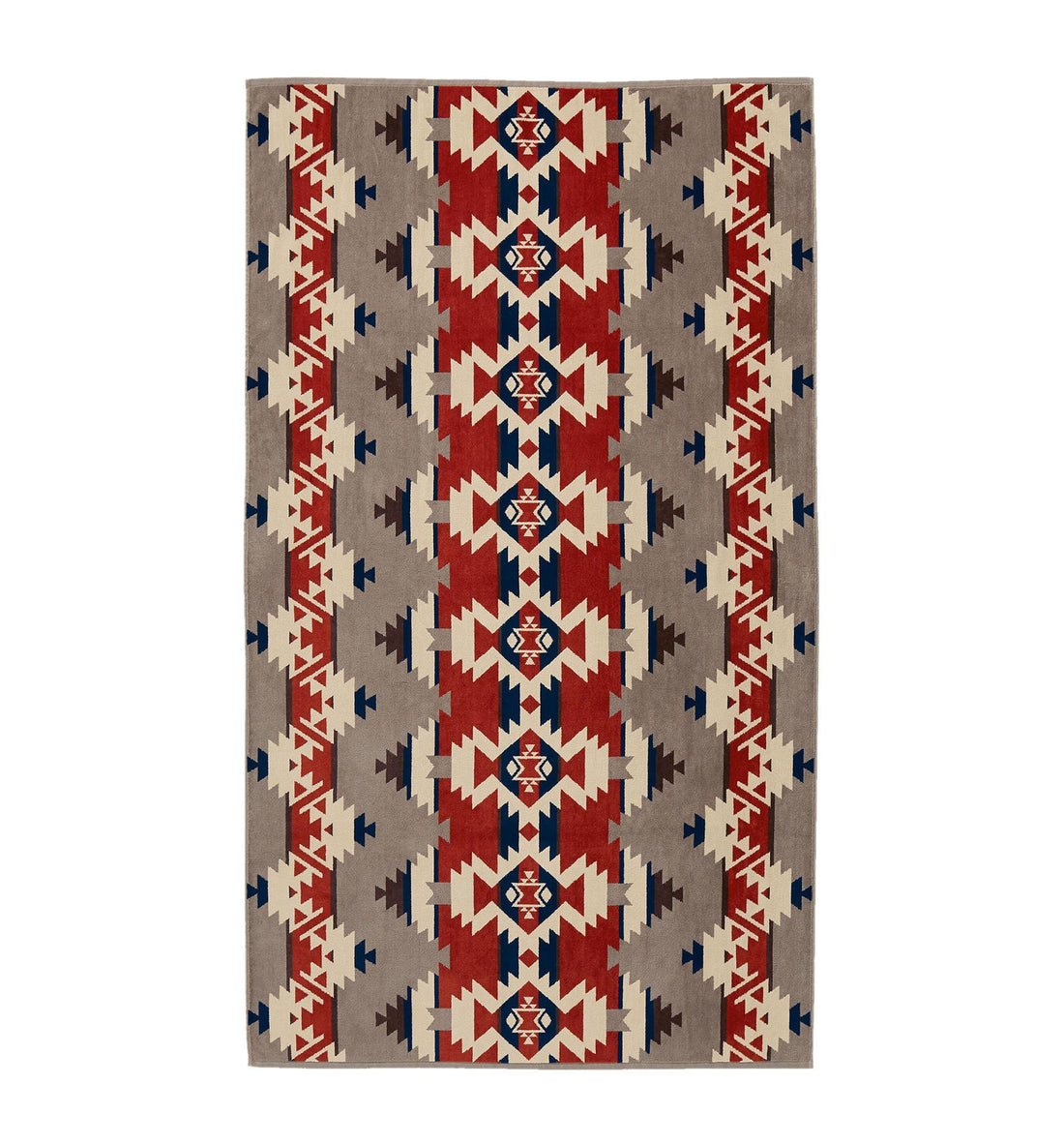 Pendleton Woolen Mills Oversized Jacquard Towel - Mountain Majesty - Outdoor Living/Travel - Iron and Resin