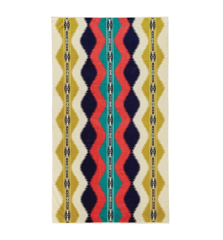 Pendleton Woolen Mills Oversized Jacquard Towel - Saguaro - Outdoor Living/Travel - Iron and Resin