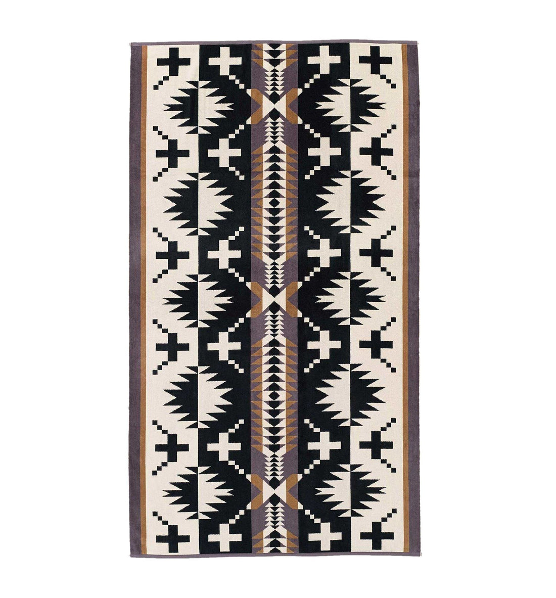 Pendleton Woolen Mills Oversized Jacquard Towel - Spider Rock - Outdoor Living/Travel - Iron and Resin