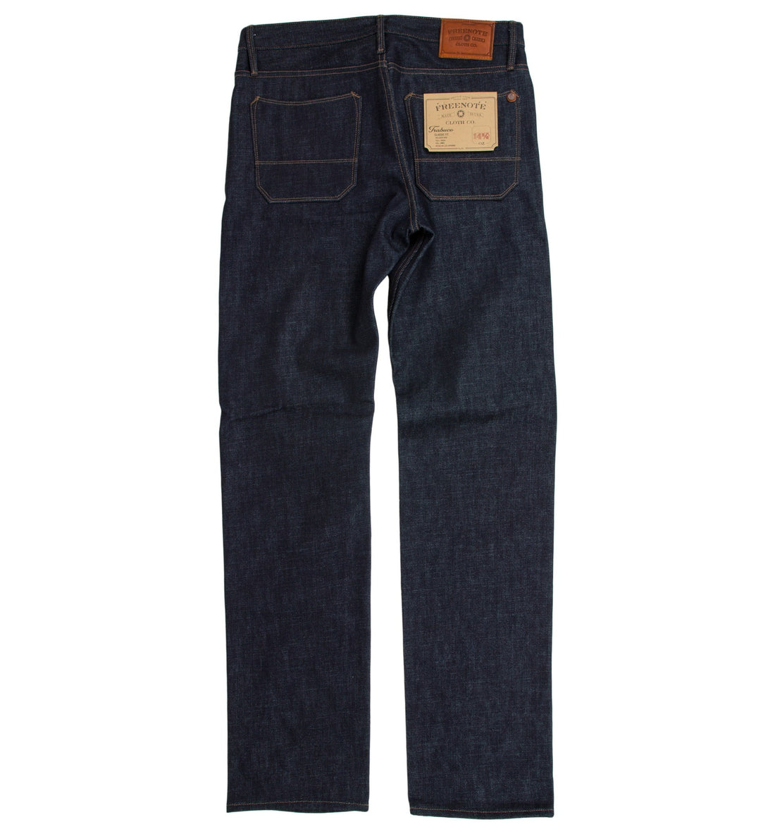 Freenote Trabuco Classic Straight 14.75oz - Apparel: Men's: Pants - Iron and Resin