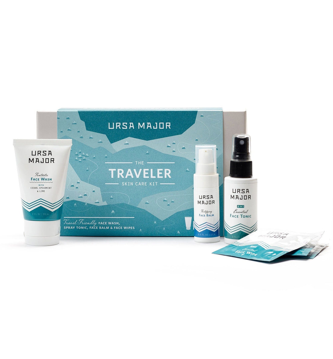 Ursa Major The Traveler Skin Care Kit - Grooming - Iron and Resin