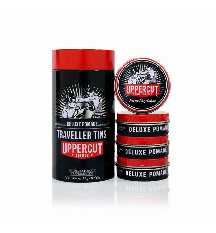 Uppercut Deluxe Traveller Tins - Deluxe Pomade - Grooming - Iron and Resin