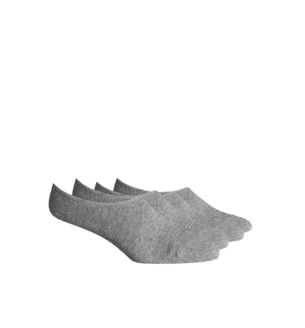 Richer Poorer Inc 2-PK LIGHTWEIGHT NO SHOW Sock - TREY - Heather Grey - Socks/Underwear - Iron and Resin