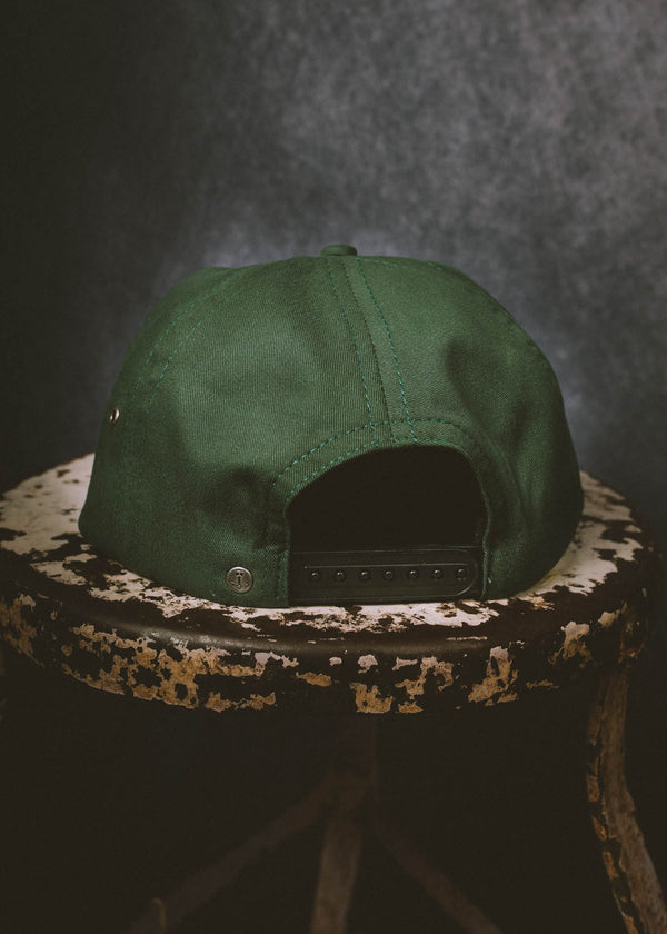 Iron & Resin Troop Hat Snapback In Spruce