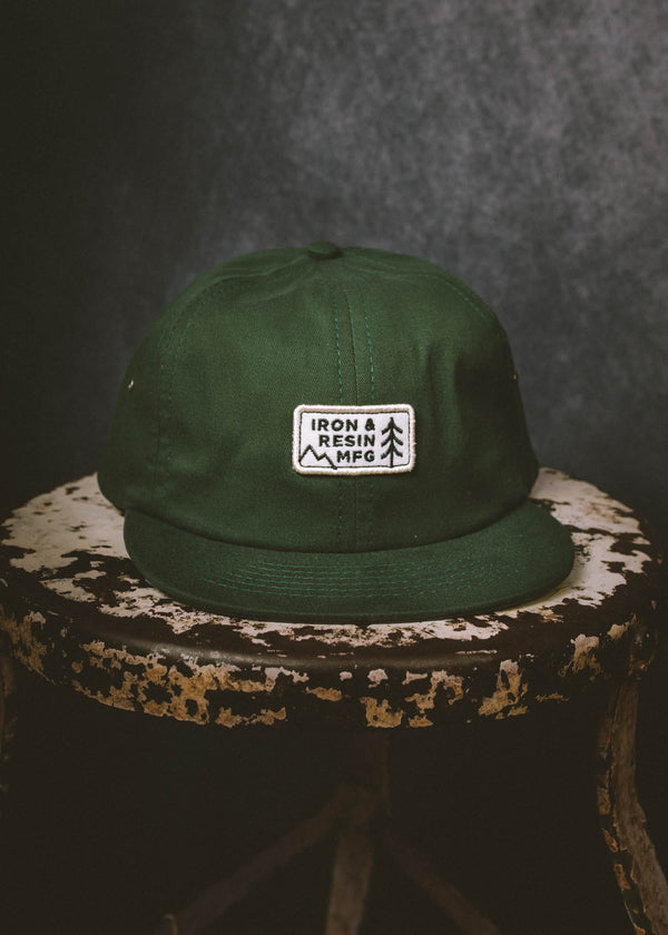 Iron & Resin Troop Hat in Spruce