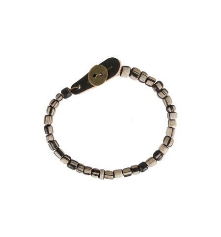 Tres Cuervos Leatherworks Tsavo Bracelet - Jewelry - Iron and Resin