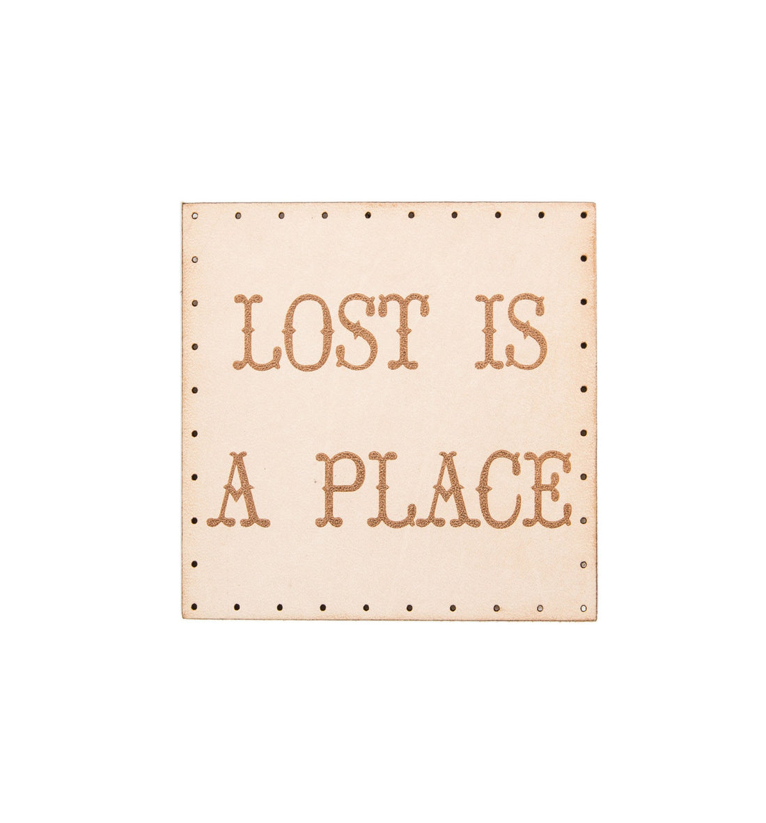 Lost is a Place Patch - Accessories: Patches - Iron and Resin