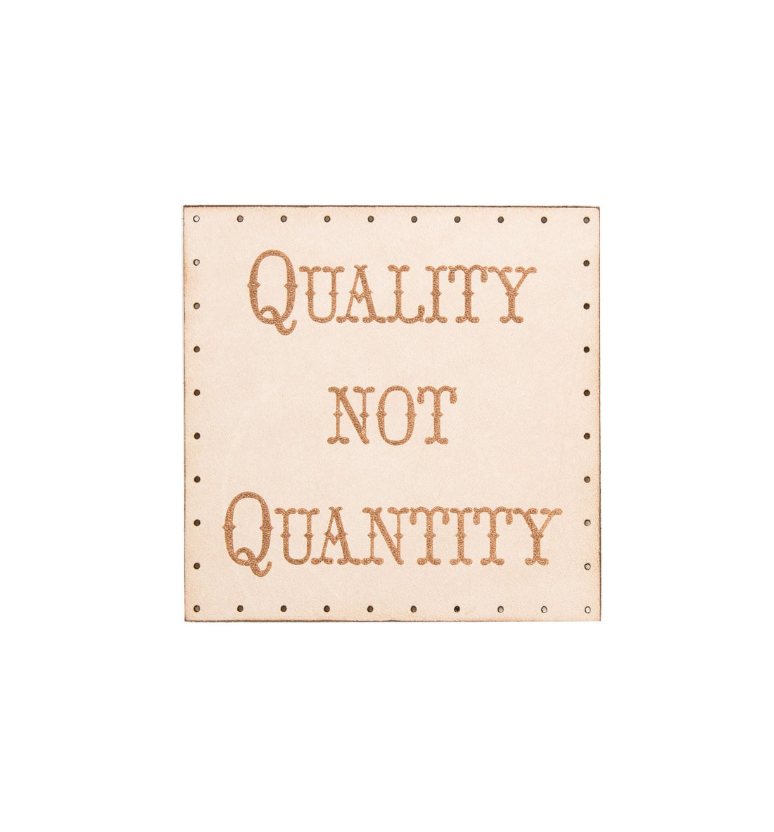 quality not quantity patch stickerspinspatches iron and resin