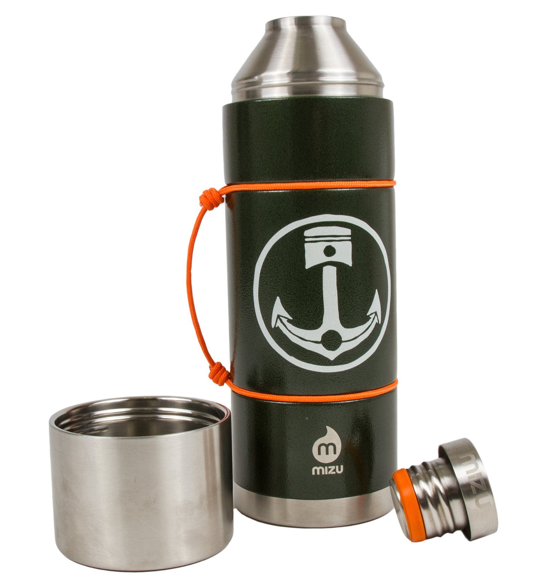 INR x Mizu V10, Hammer Army Green - Houseware: Thermos - Iron and Resin