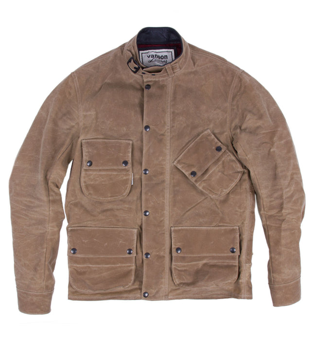 Iron & Resin X Vanson Leathers Mojave Jacket - Apparel: Men's: Outerwear - Iron and Resin