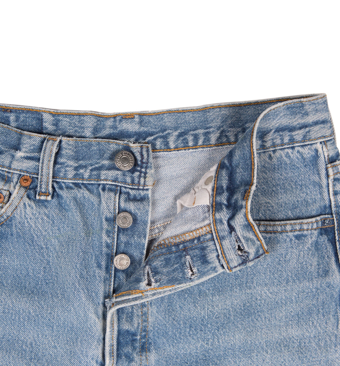 Vintage 50xx Levis Cutoffs Jeans - Vintage - Iron and Resin