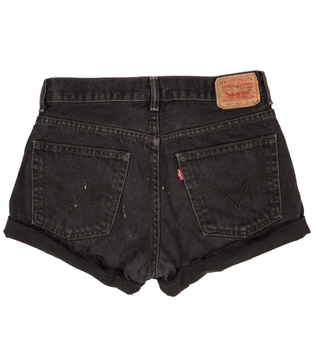 Vintage 550 Black Levis Cutoffs Jeans - Vintage - Iron and Resin
