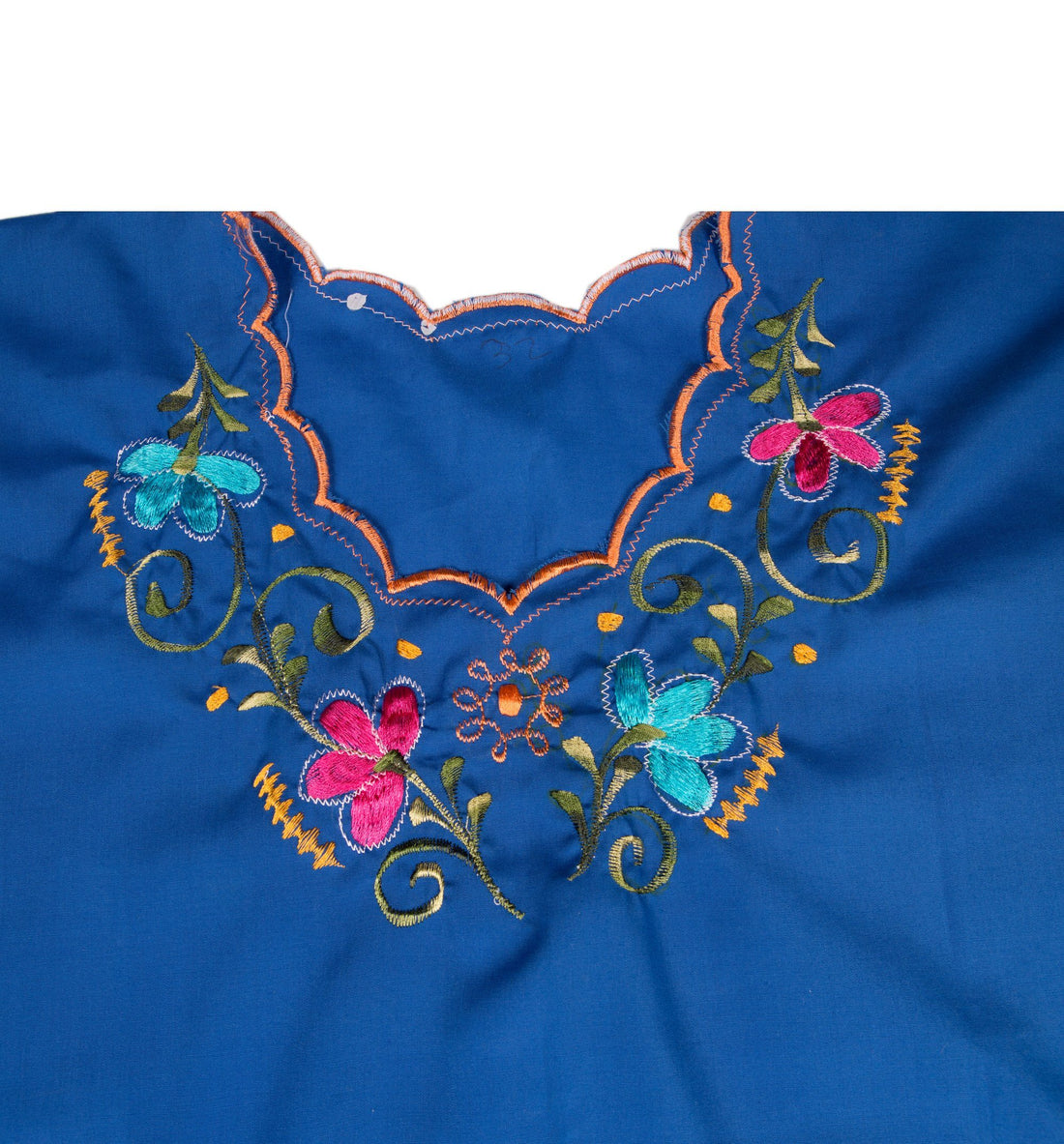 Vintage 70's Embroidered Blouse - Vintage - Iron and Resin