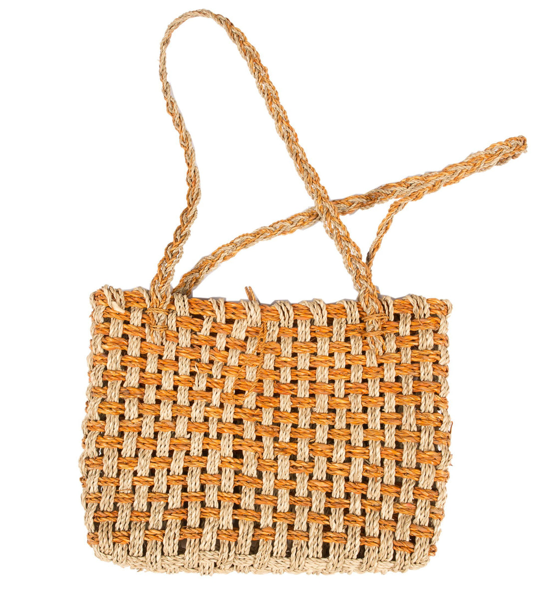 Vintage Crochet Tote Bag - Vintage - Iron and Resin