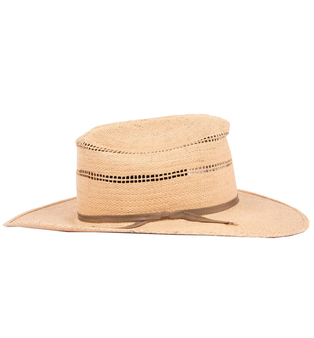 d94c97dc ... Vintage Straw Hat - Vintage - Iron and Resin ...