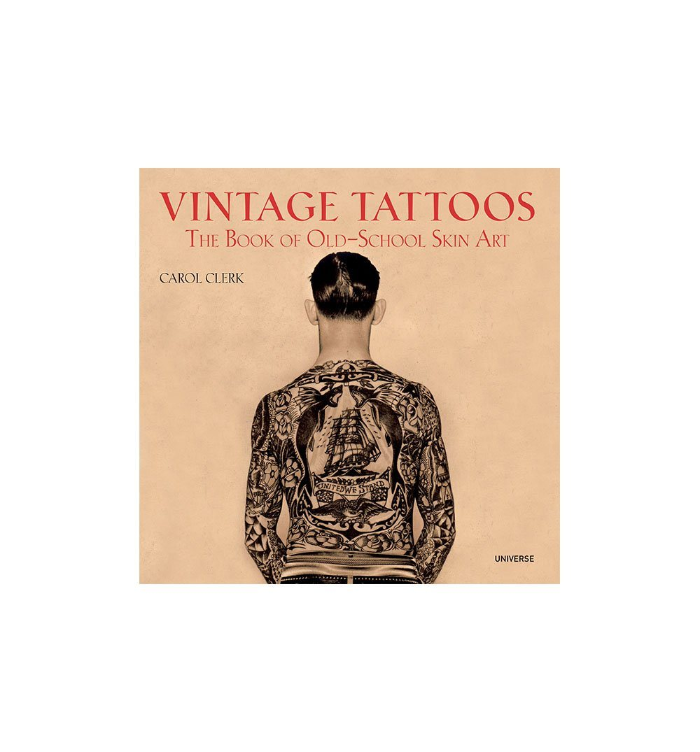 Vintage Tattoos - Paperback - Home Essentials - Iron and Resin