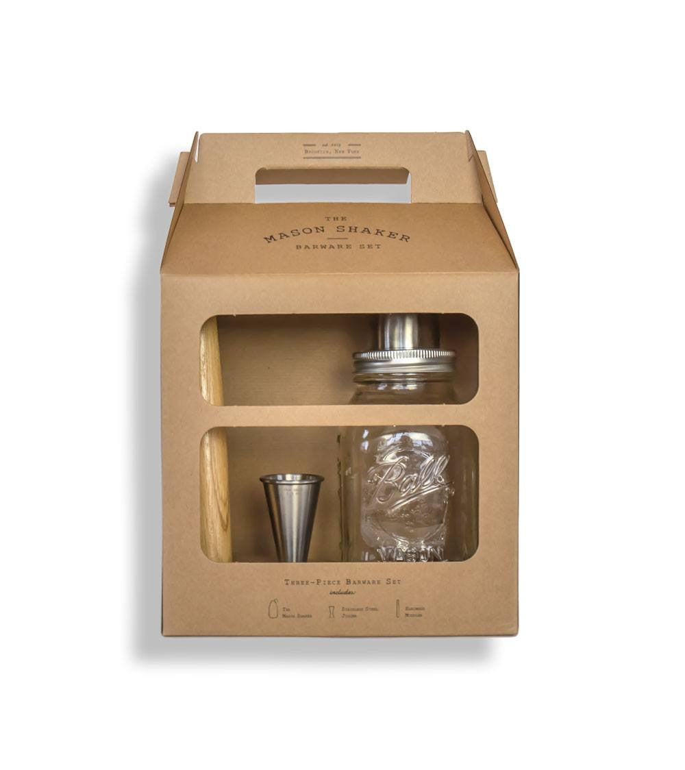 The Mason Shaker Kit - Kitchenware - Iron and Resin