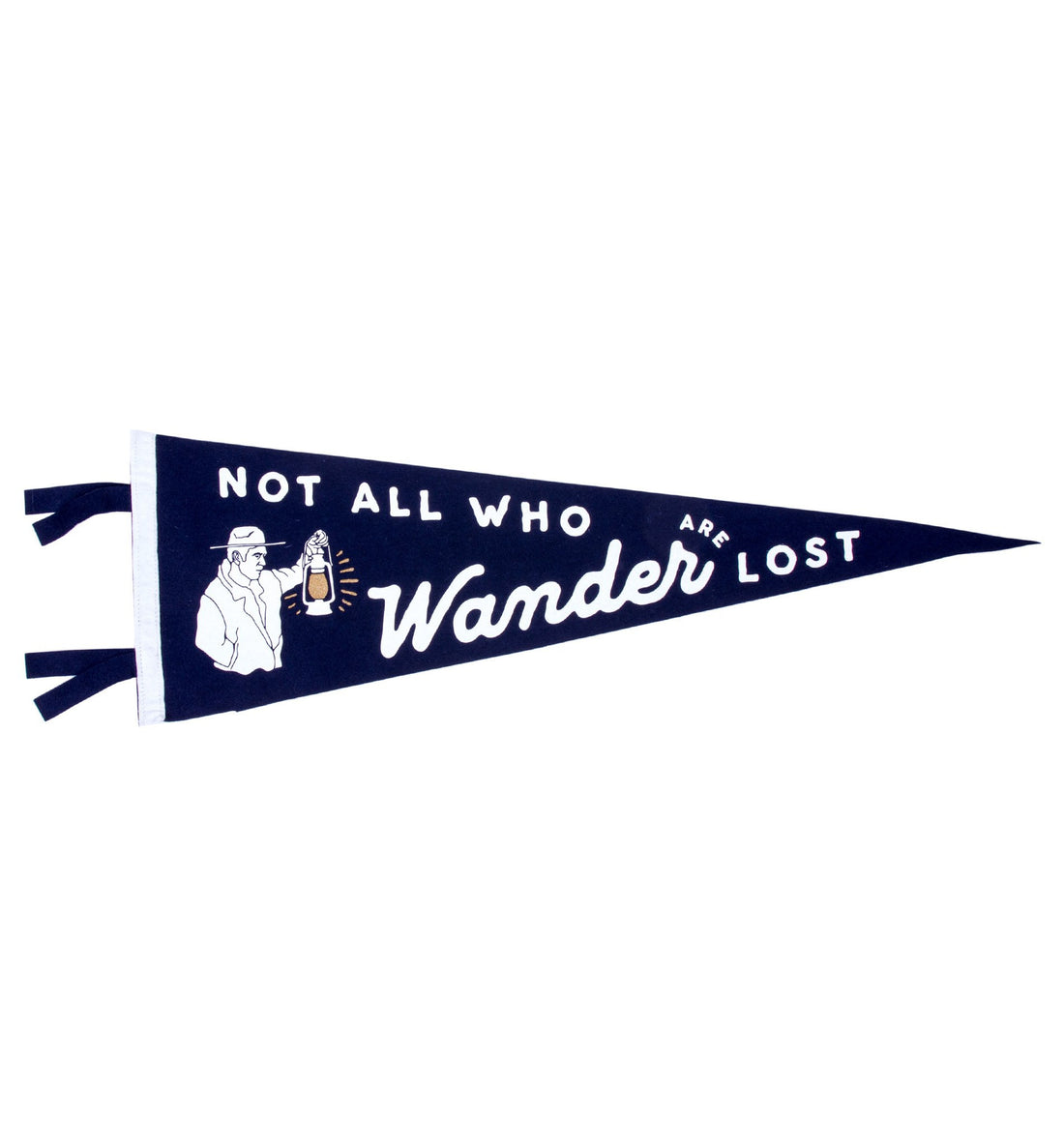 Oxford Pennant - Wander - Living Space - Iron and Resin
