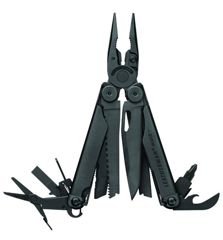 Leatherman Wave + - Black - Outdoor Living/Travel - Iron and Resin