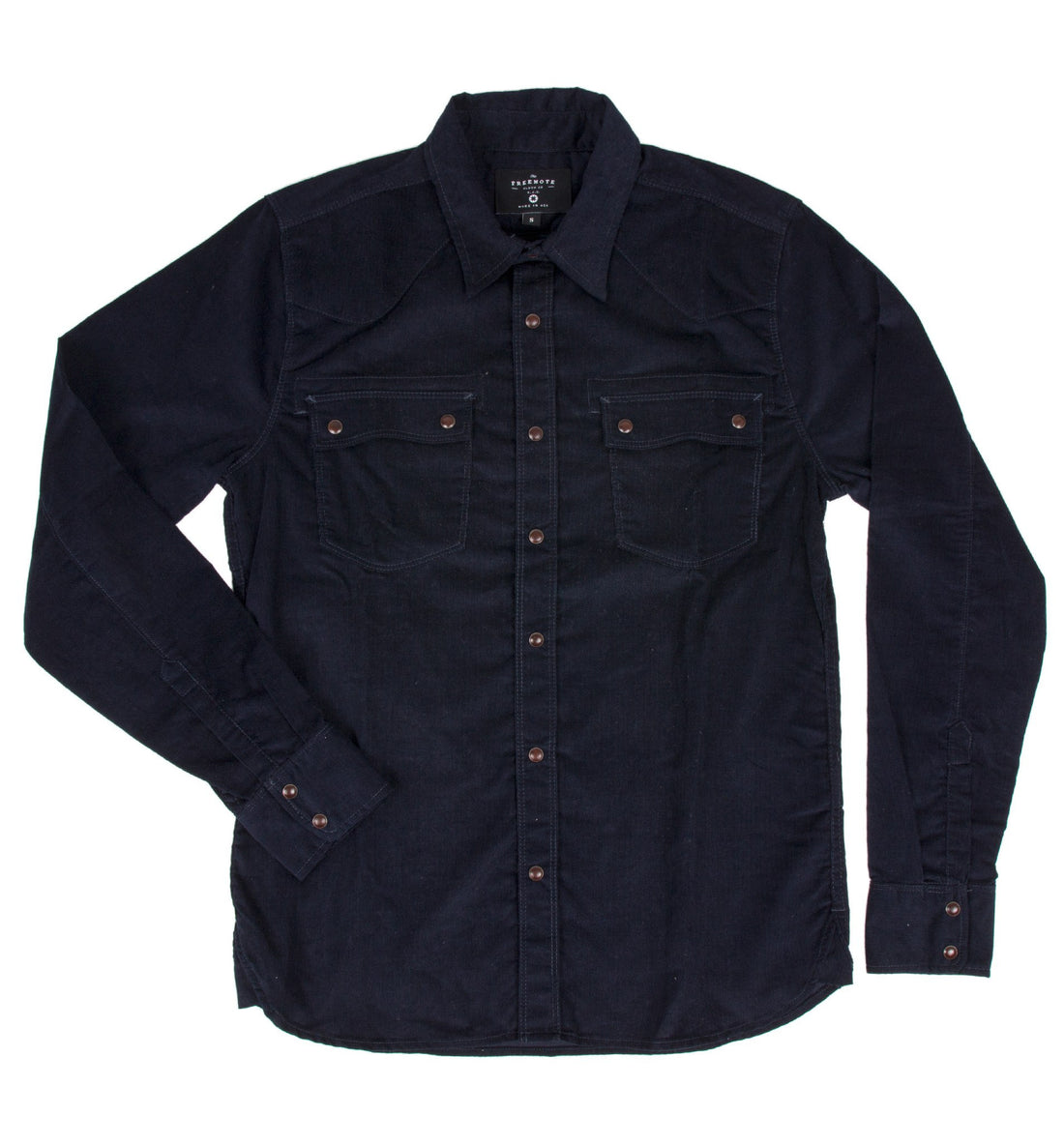 Freenote Modern Western Corduroy Shirt - Tops - Iron and Resin
