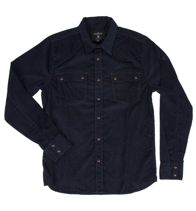 Freenote Modern Western Corduroy Shirt - Apparel: Men's - Iron and Resin