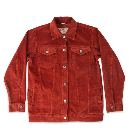 Women's Corduroy Rambler - Outerwear - Iron and Resin