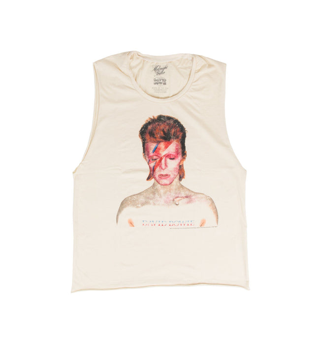 Aladdin Sane Women's Muscle - Tops - Iron and Resin