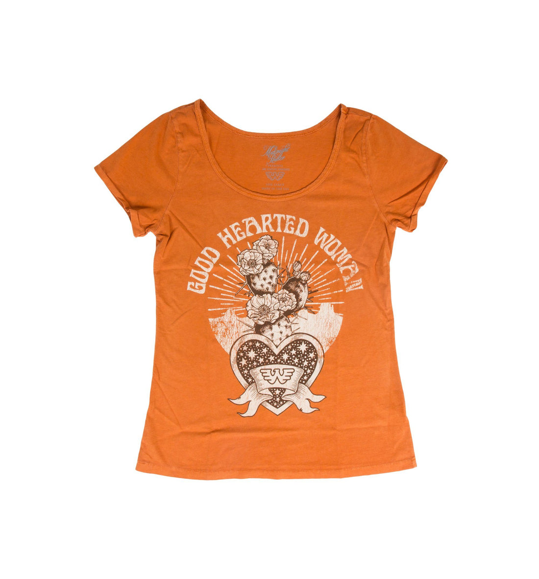 Midnight Rider - Good Hearted Woman Ballet Tee - Tops - Iron and Resin