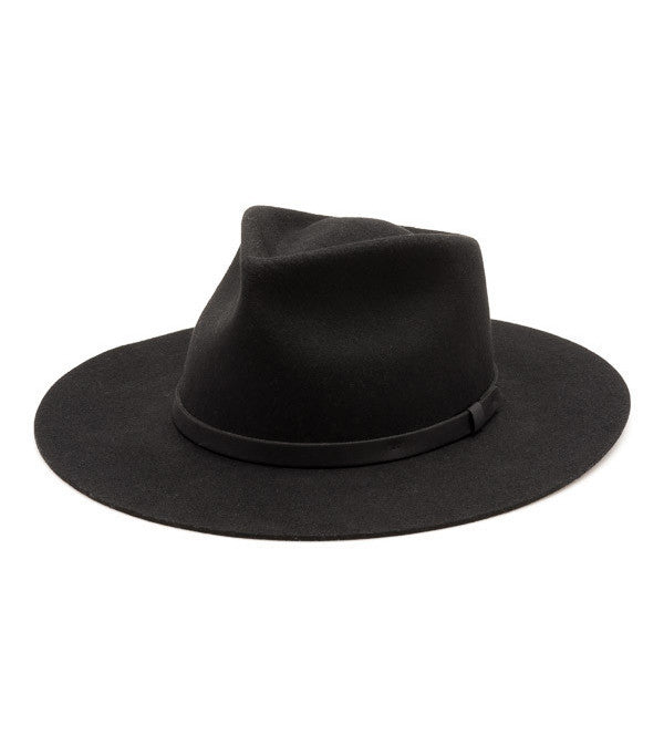 Yellow 108 Dylan Fedora - Accessories: Headwear - Iron and Resin