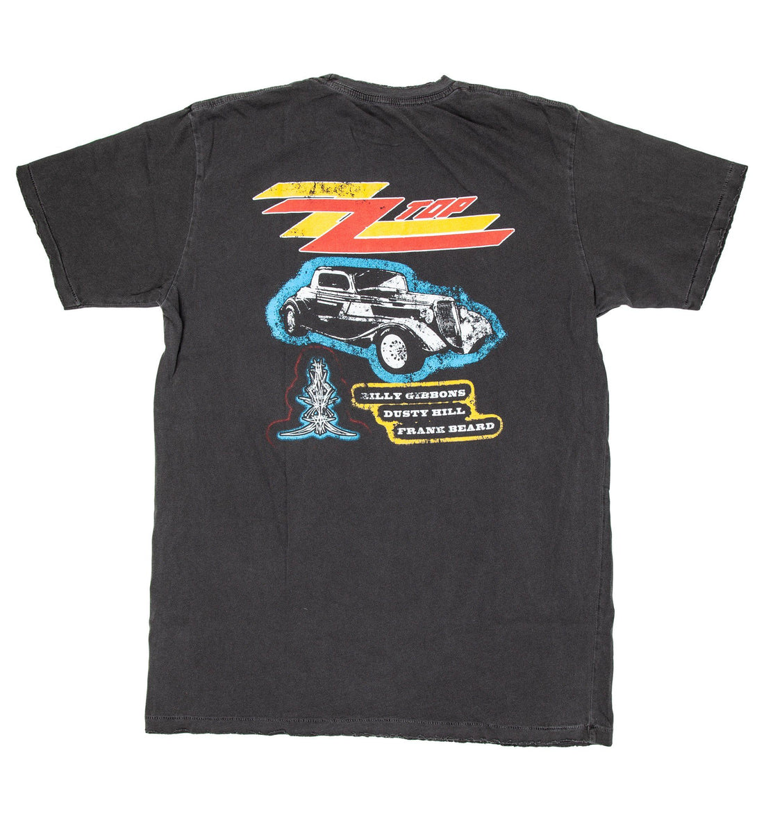 Midnight Rider - ZZ Top Eliminator Tee - Tops - Iron and Resin