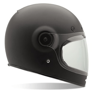 Bell Bullitt Full Face Helmet - Moto: Helmets - Iron and Resin