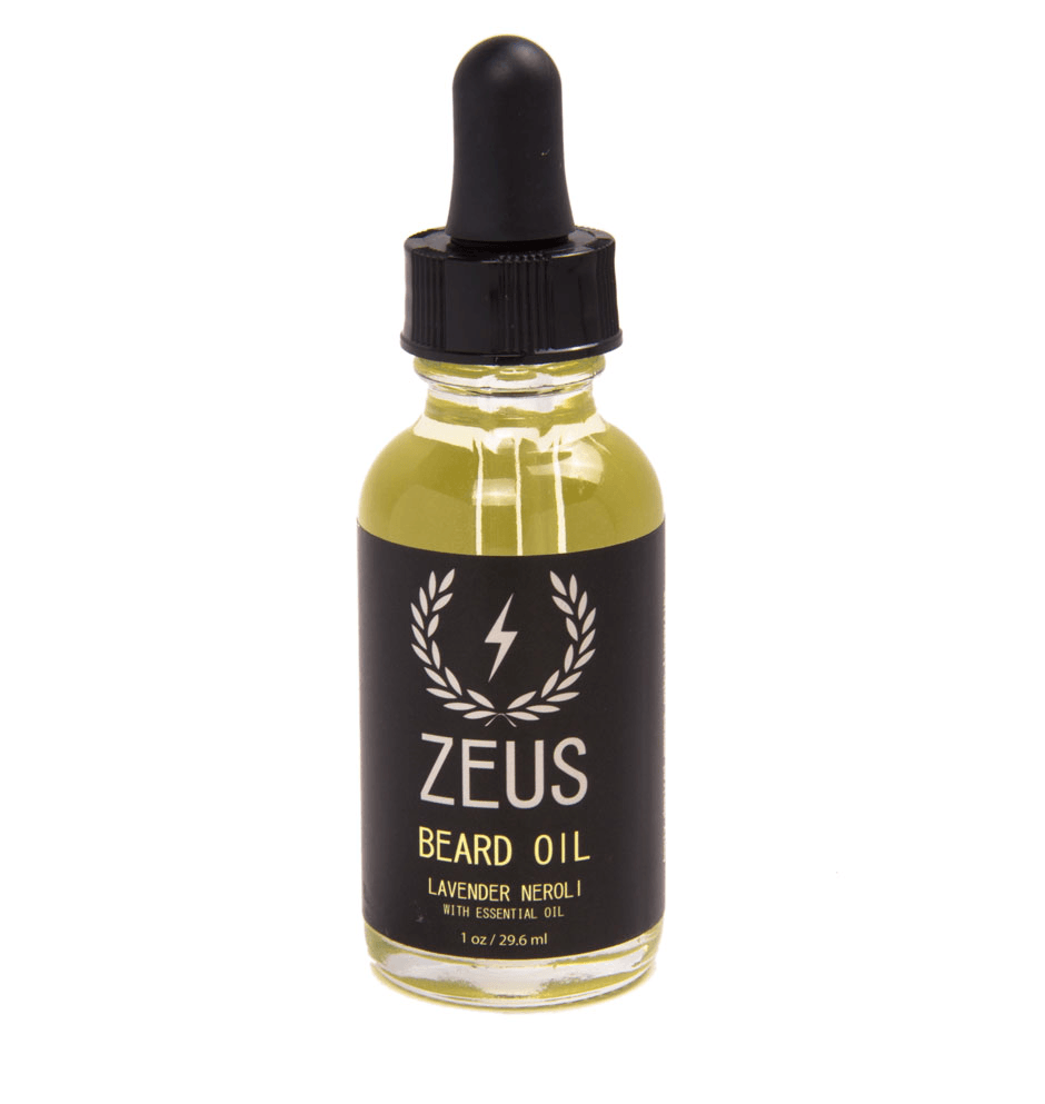 Zeus Beard Oil, Lavender 1oz