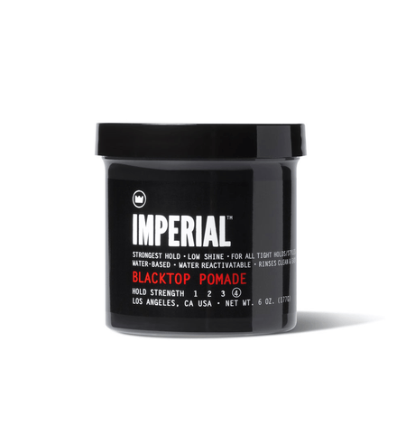 Imperial Black Top Pomade - Grooming - Iron and Resin