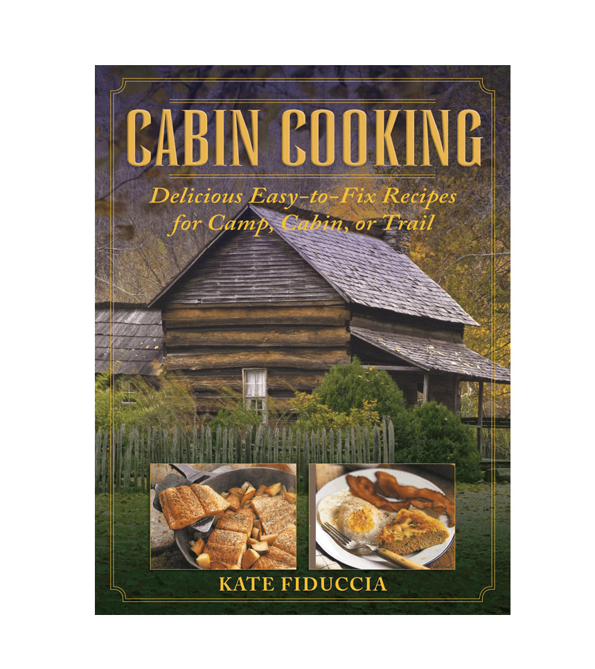Cabin Cooking Book - Accessories: Books - Iron and Resin