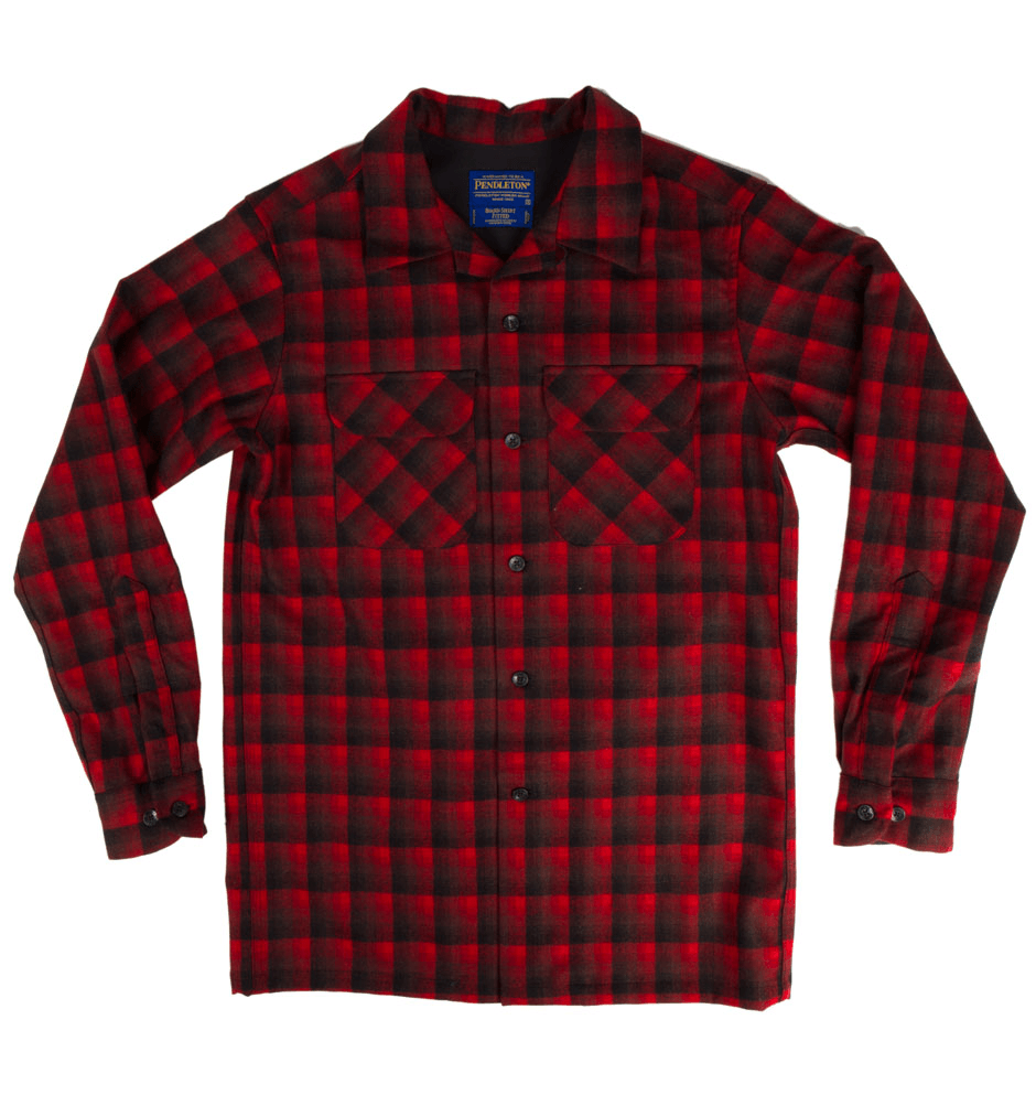 Pendleton Fitted Board Shirt - Apparel: Men's: Wovens - Iron and Resin