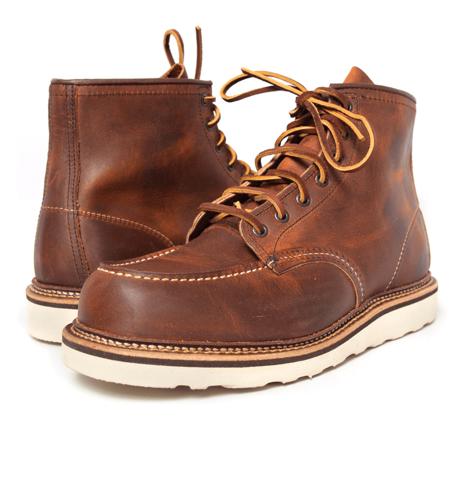 RED WING MOC TOE - Boots - Iron and Resin