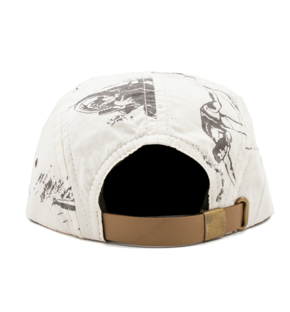 INR x Bruce Brown Films Icons Hat - Accessories: Headwear: Men's - Iron and Resin