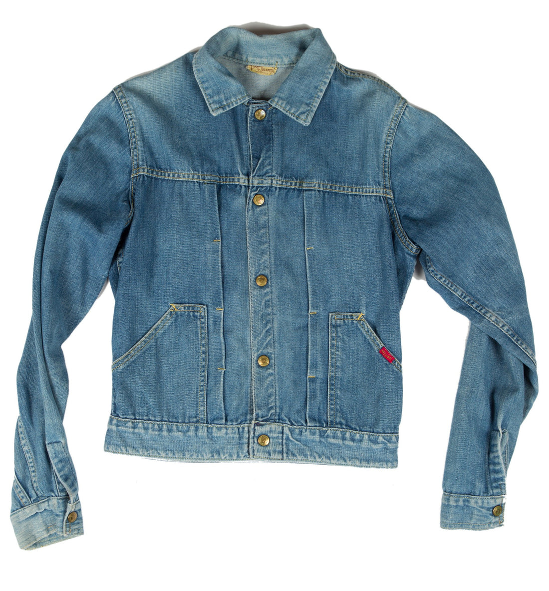 Vintage 60's Big Smith Denim Jacket - Vintage - Iron and Resin