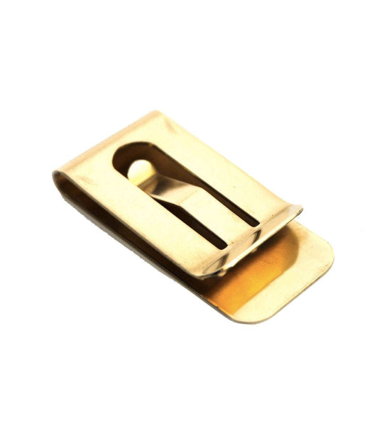 Owen & Fred Brass Money Clip