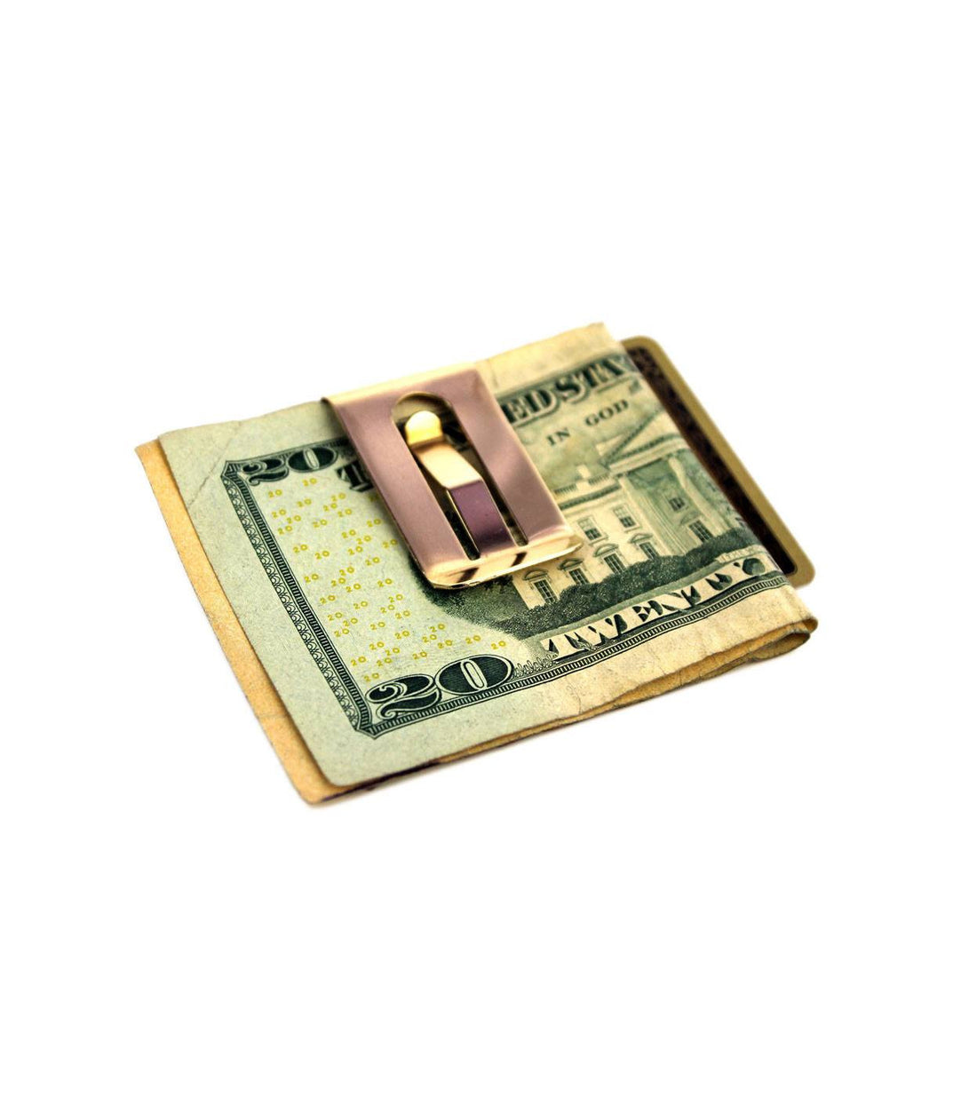 Owen & Fred Brass Money Clip - Accessories: Wallets - Iron and Resin