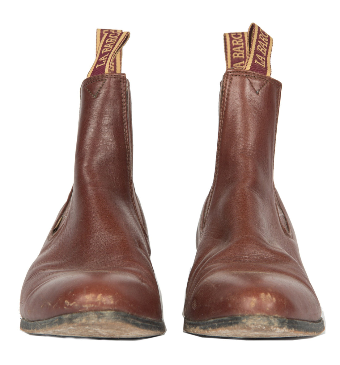 Vintage Brown Chelsea Boots, 10 - Vintage: Men's: Shoes - Iron and Resin