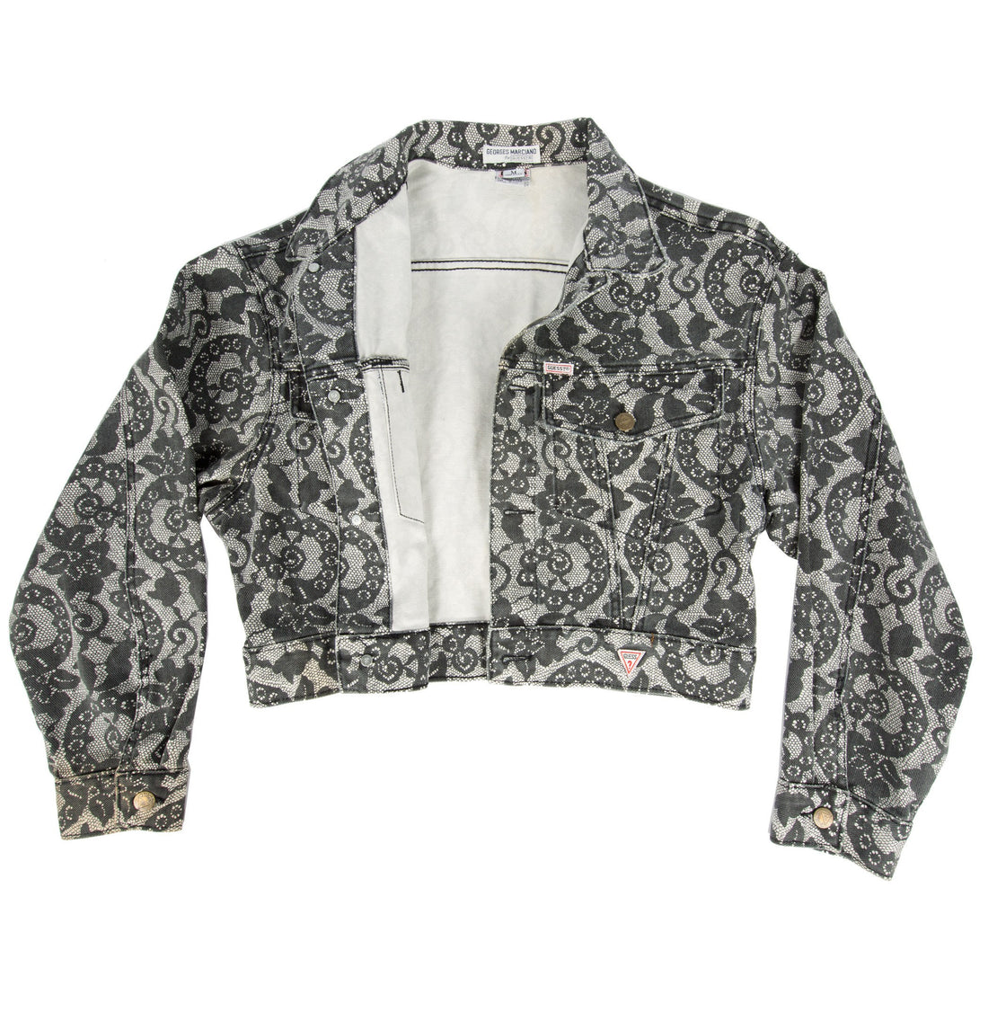 Vintage 80's Guess Marciano Floral Jacket - Vintage - Iron and Resin