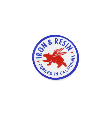 INR Bear Motor Oil Sticker
