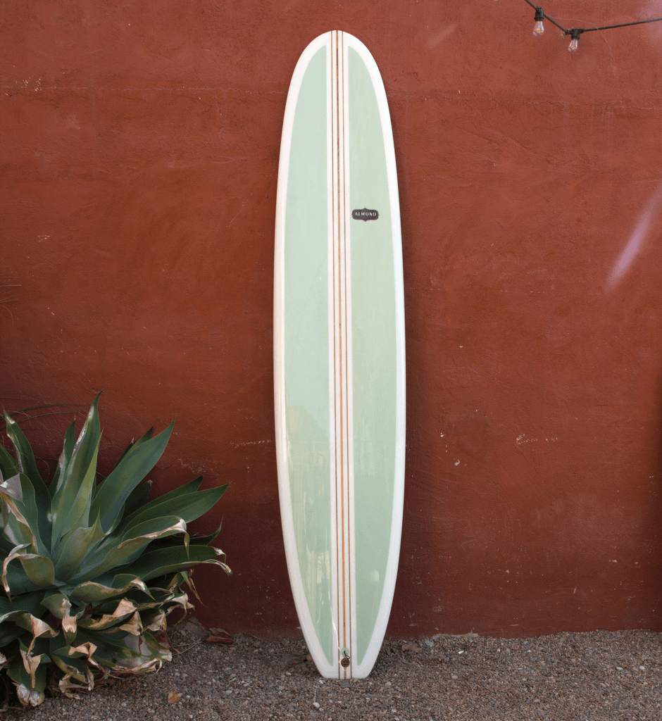 Almond Surfboards - 9'6 Lumberjack - Surf: Boards - Iron and Resin