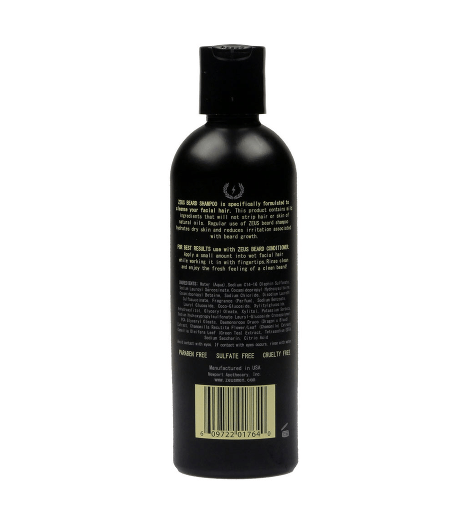 Zeus Beard Shampoo - Grooming - Iron and Resin