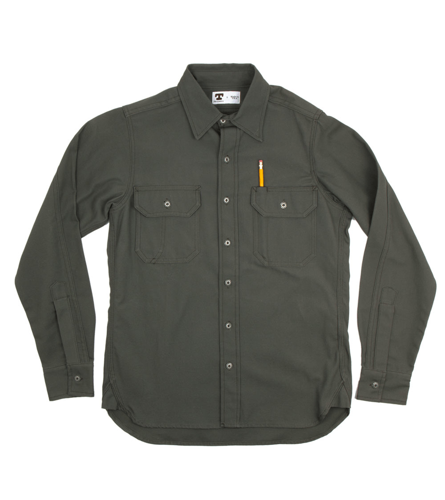 Tellason Clampdown 8oz Canvas Shirt - Apparel: Men's: Wovens - Iron and Resin